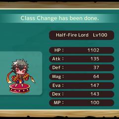 Half Fire Lord