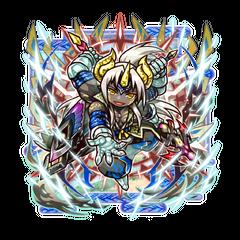 Ovarou (Dual Spear Celebration God) in the mobile game