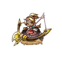 Auro as an Ogre Mixblood in the mobile game
