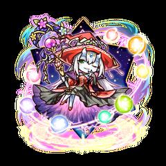 Supesei as a Spiritian Queen in the mobile game