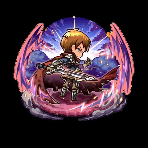 Avenger (Hero of Sunlight) as a member of Parabellum in the mobile game
