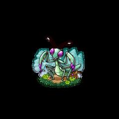A Poison Mantis