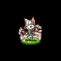 A Nail Cat (White)