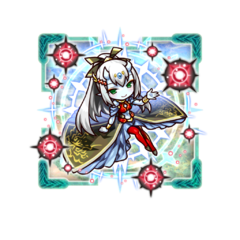 Supesei (Celebration Magical Guide) as a Spiritan Queen in the mobile game