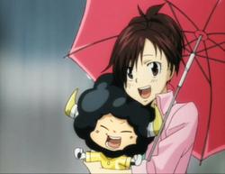 Haru & Lambo Rainy Scene