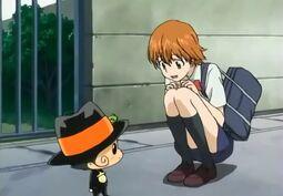 Kyoko meets Reborm