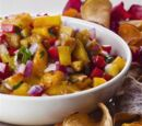 Glazed Grilled Fruit Salsa