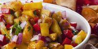 Glazed Grilled Fruit Salsa