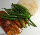 Pan-fried Masala Salmon