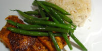 Pan-fried Masala Salmon