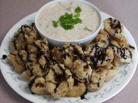 File:Fried Calamari With Remoulade Sauce Drizzled With Balsamic Syrup.jpg