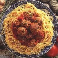 File:Mozzarella meat balls and spagehetti.jpg