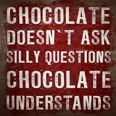 Chocolate love affair