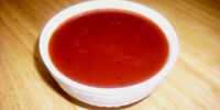 Low-calorie Tomato Dressing