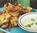 Crawfish Beignets