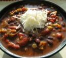Sweet and Spicy Vegetarian Chili