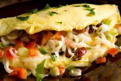 Cajun omelette2
