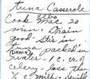 Mrs. Truman's Tuna Casserole