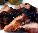 Roast Pork Tenderloin with Cherry Sauce
