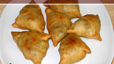 Samosa Recipe Part 1 of 2 by Manjula
