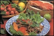 Raw Beef Salad