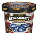Ben & Jerry's Stephen Colbert's AmeriCone Dream