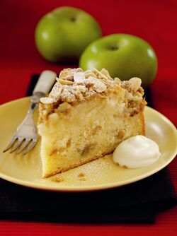German Apple Cake image