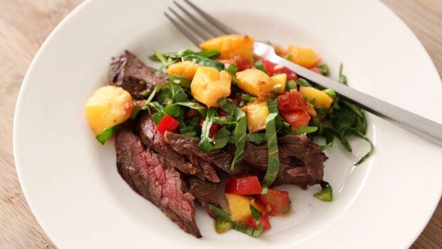 File:Skirt steak with grilled peach salsa horiz.jpg