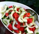 Persian Tomato and Cucumber Salad