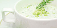 Spring Fennel and Pea Soup