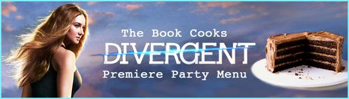 Divergent Premiere Party Menu