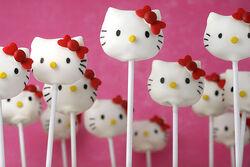 Hello Kitty cakepop