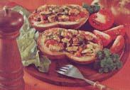 Open Tomato Sandwich