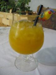 Cocktail wodka peach