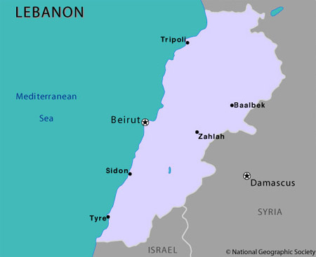 File:Map of Lebanon.jpg