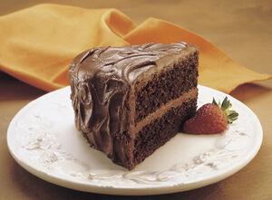 Lisas chocolate cake