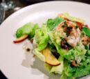 Shrimp Nectarine Thai Salad