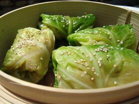 Asian Cabbage Parcels 2