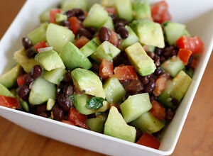 Black-bean-cucumber-avocado-salad
