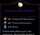 Starry-Eye Pearl Necklace