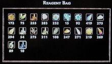 Thoreandan's reagent bag