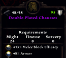 Double-Plated Chausses
