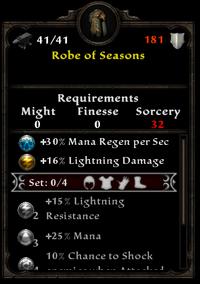 Robe of seasons