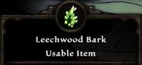 Leechwood Bark