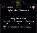 Sylvanite Chausses