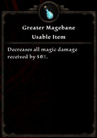 Greater Magebane Inventory Card