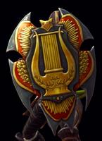 House of Ballads Shield Model
