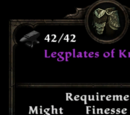 Legplates of Kronash