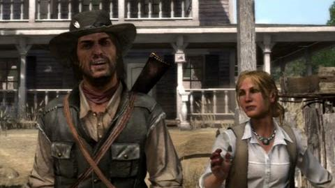 "Red Dead Redemption - mission ""This is Armadillo, USA"""