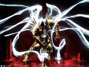 Archangel Tyrael Desktop by SQuall10
